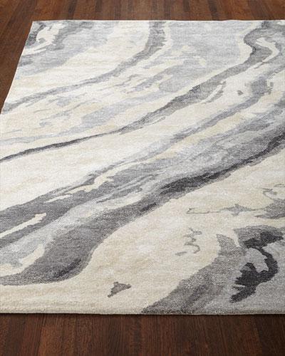 Gray Marble Runner, 2'6