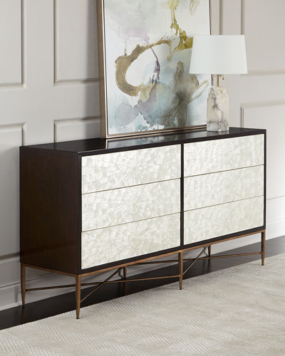 Adagio Dresser w/ Inlaid Capiz Shells