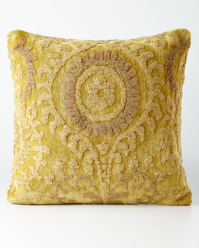 Yellow Down-Filled Pillow