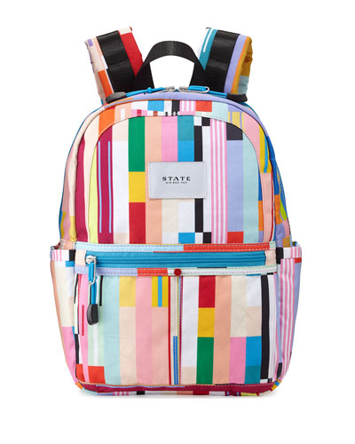 Kane Custom Stripe Mini Backpack