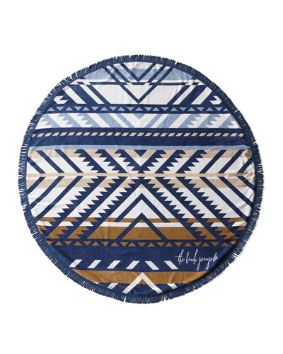 Lorne Round Beach Towel