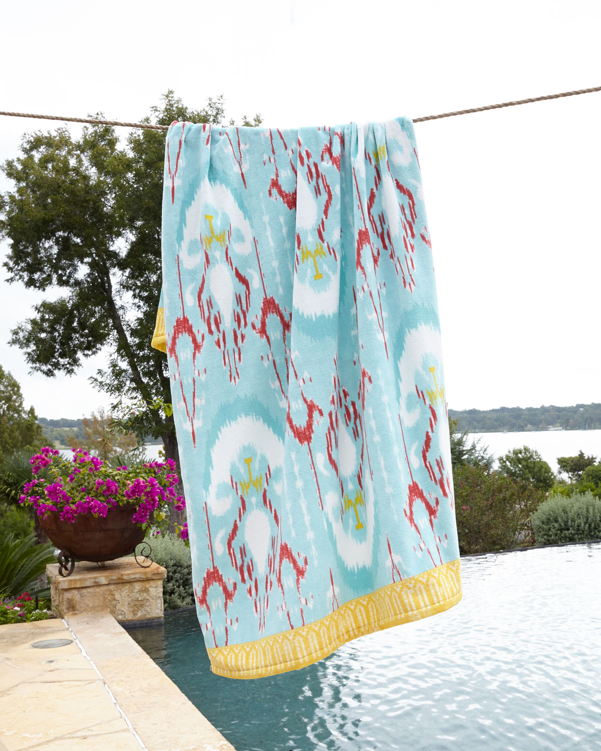Vaya Aqua Beach Towel