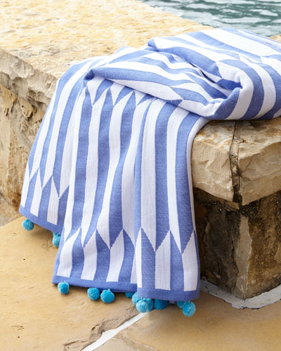 Nicatta Blue Beach Towel