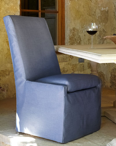 Blue Bennett Outdoor Dining Side Chair