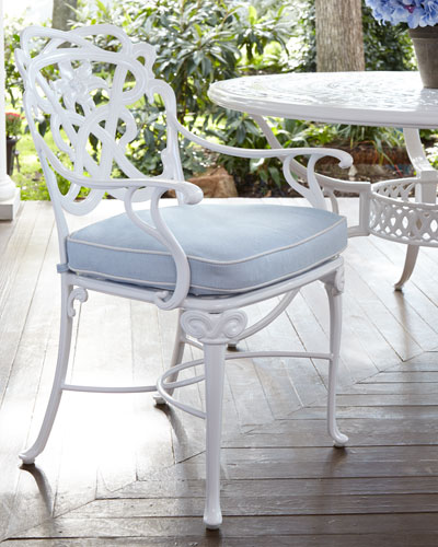 Day Lily Outdoor Dining Armchair