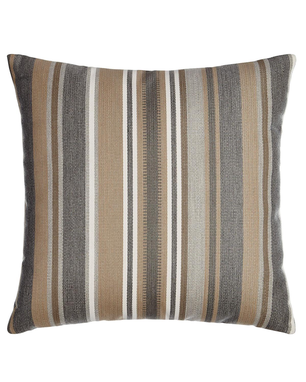 Linear Stripe Outdoor Pillow
