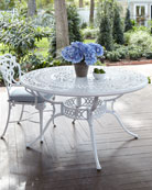 Day Lily Round Outdoor Dining Table