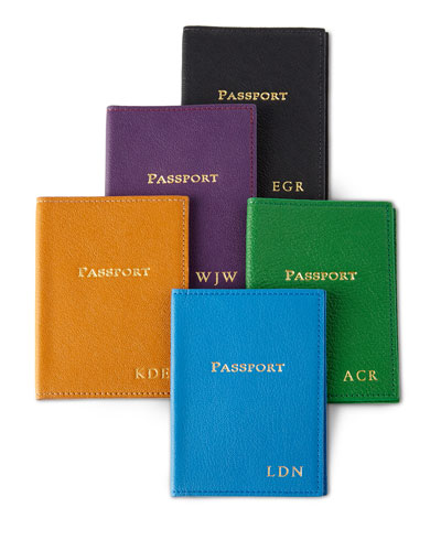 Passport Case, Personalized