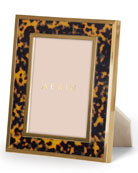"Tortoise-Inlay 5"" x 7"" Picture Frame"