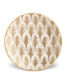 Fortuny Piumette Canape Plates, Set of 4