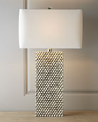 Platinum Stud Lamp