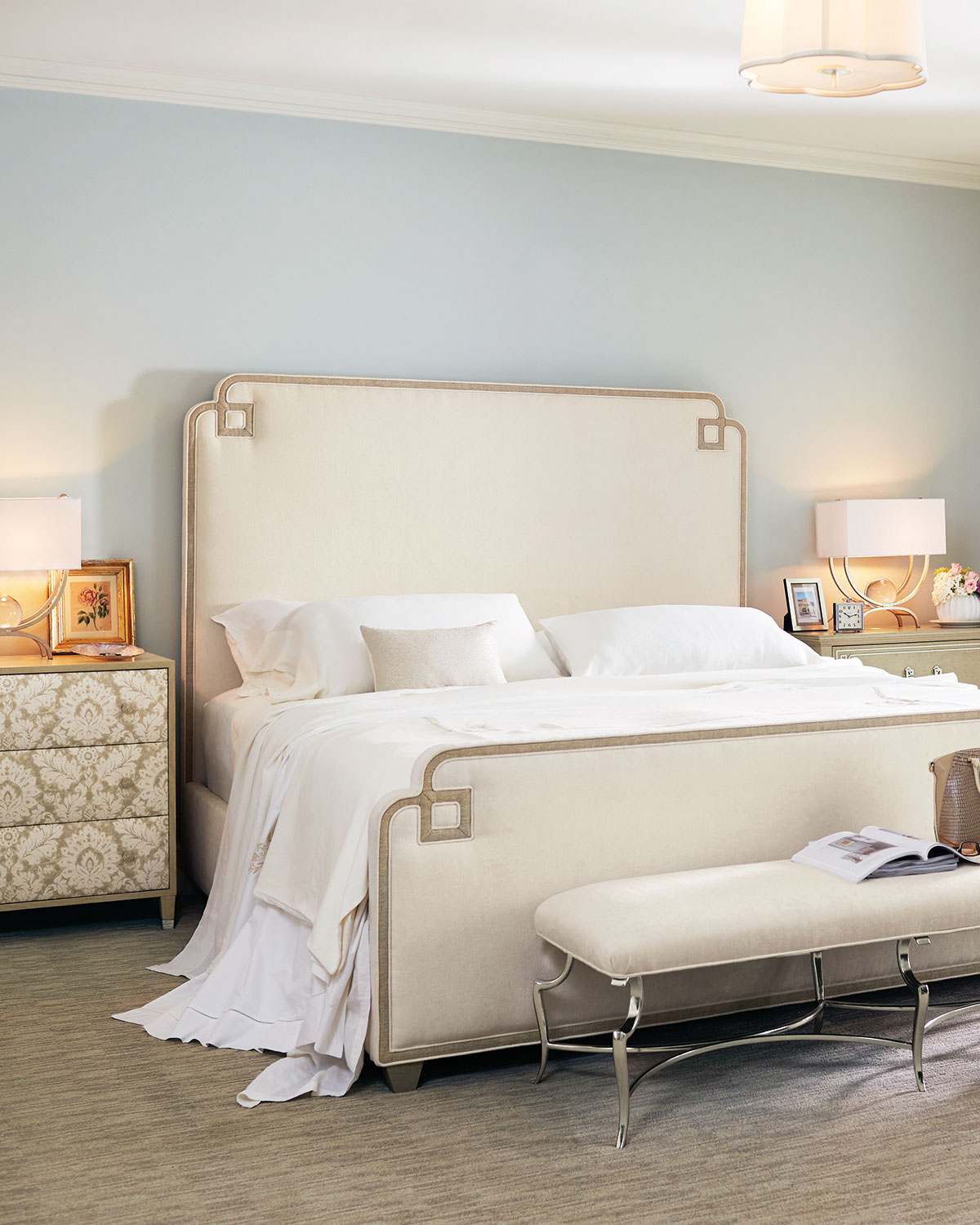 Ophelia Upholstered Queen Bed