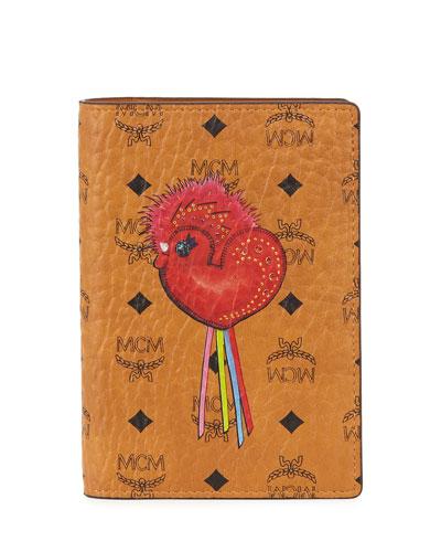 New Year Series Visetos Passport Holder, Beige