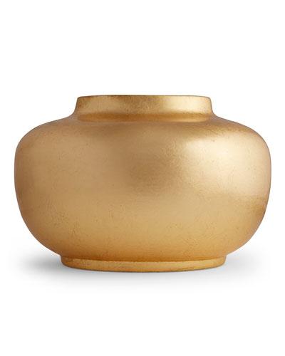 Short Oval Vase