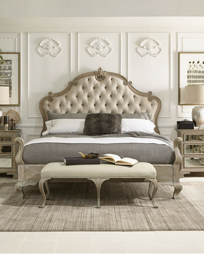 Campania Tufted Queen Bed