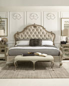 Ventura Tufted King Bed
