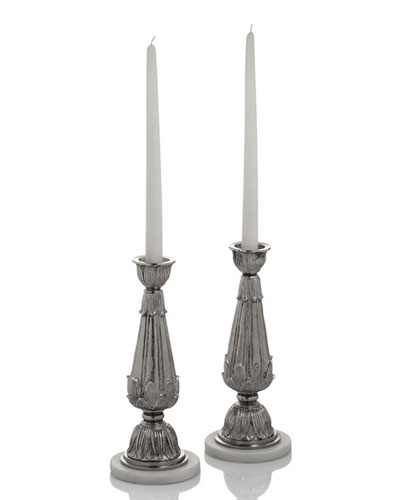 Palace Candleholders, Set of 2