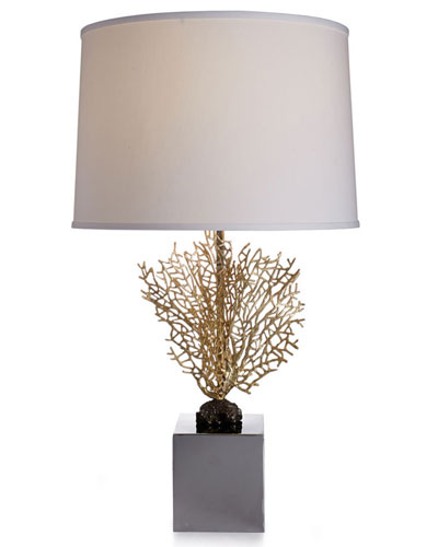 Fan Coral Table Lamp