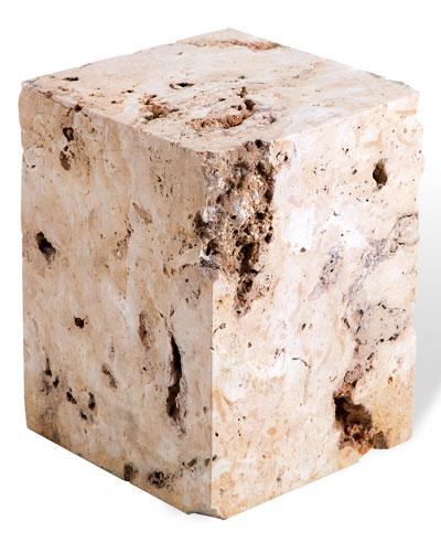 Zara Stone Side Table