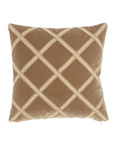 Renaissance Velvet Pillow, 20