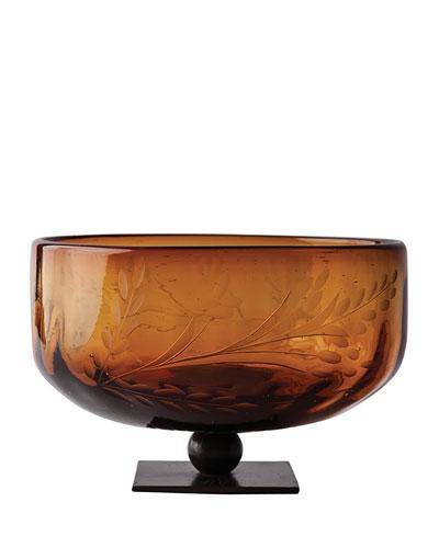 Amber Gourd Bowl
