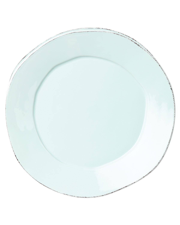 Vietri Dinnerwares LASTRA AQUA DINNER PLATE