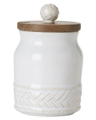Le Panier Whitewash Sugar Pot