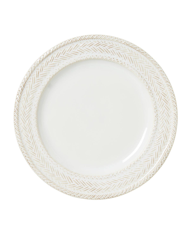 Juliska Dinnerwares LE PANIER WHITEWASH DESSERT/SALAD PLATE