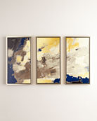 """My Blue Horizon"" Giclees, Set of 3"