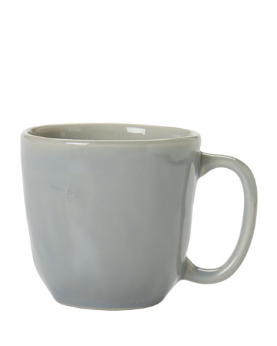 Puro Mist Gray Crackle Cofftea Cup