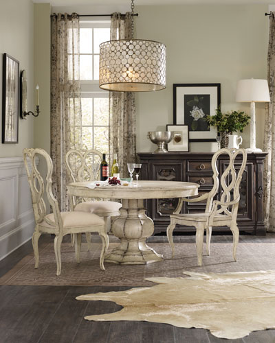 Brooks Pedestal Dining Table