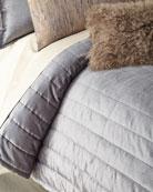 Donna Karan Home Full/Queen Channel-Sti Thread Counth Velvet