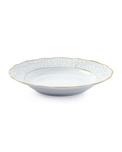 Simply Anna Polka Rim Soup Bowl