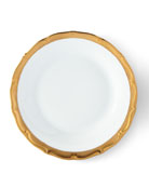 Golden Patina Salad Plate