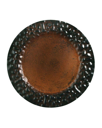 Hammered Charger Plate