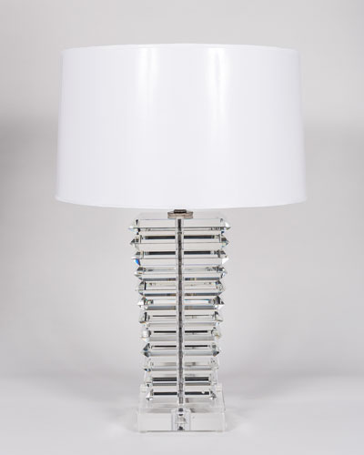 Wedge Glass Lamp