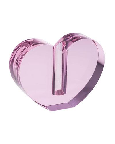 Pink Heart Vase