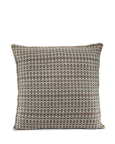 Cashmere Basketweave Pillow