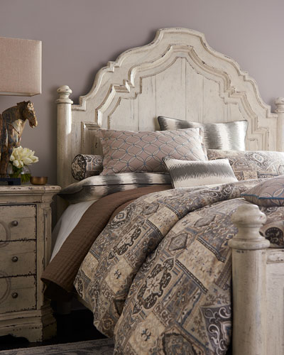 Adelina Queen Panel Bed