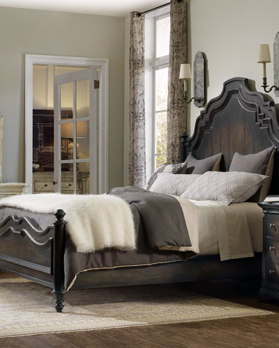 Annibale King Panel Bed
