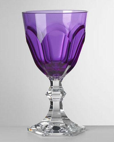 Dolce Vita Violet Water Goblet
