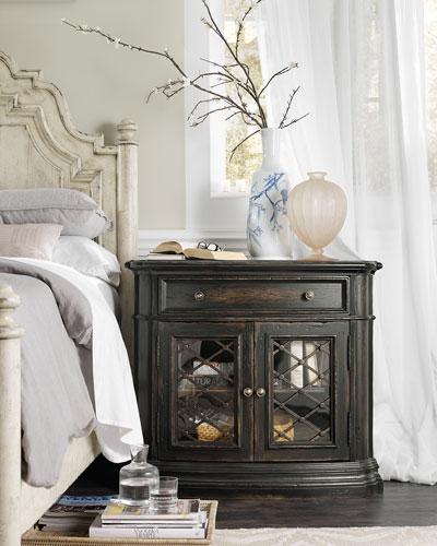 glass bedroom furniture. Quick Look  Hooker Furniture Handcrafted Glass Bedroom Neiman Marcus
