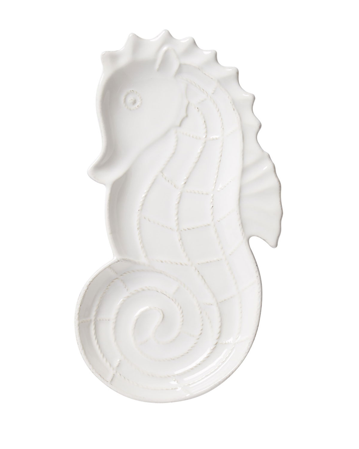Berry & Thread White Seahorse Hostess Tray