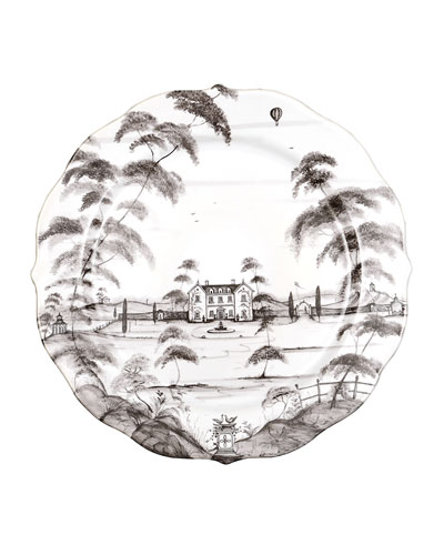 Country Estate Charger Plate