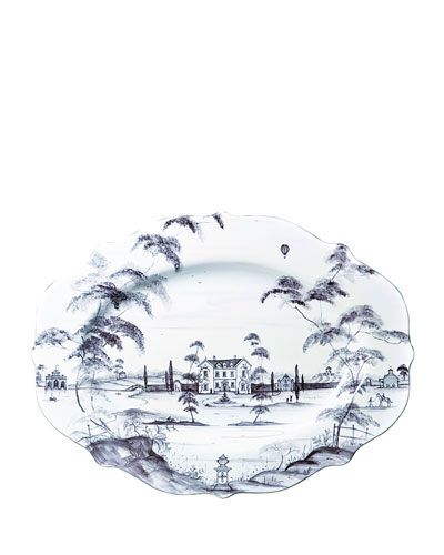 Country Estate Main House Serving Platter