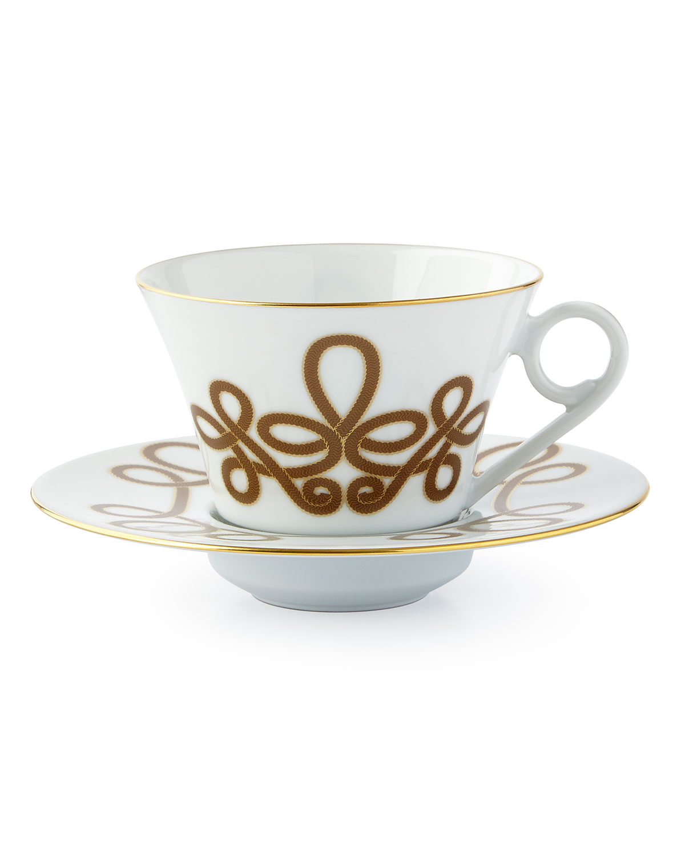 Haviland BRANDENBURG GOLD TEA CUP