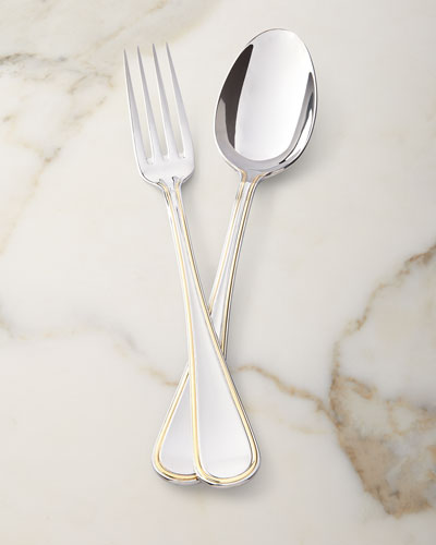 Ascot Gold Serving Spoon