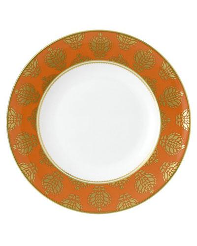 Bristol Belle Orange Border Dinner Plate