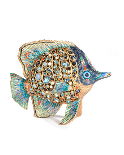 Weston Butterfly Fish Figurine