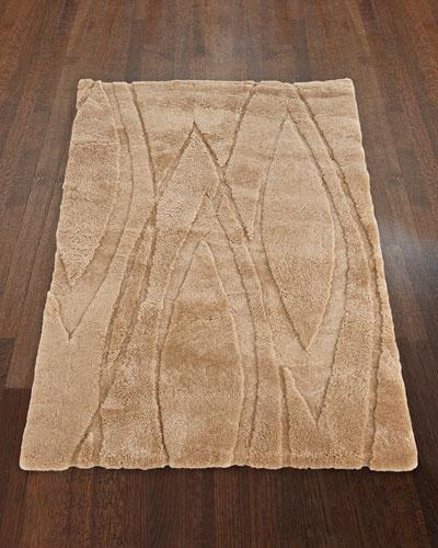 Lavonne Wool Sheepskin Rug, 5' x 8'6